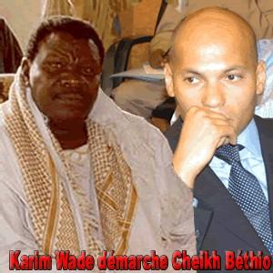 Elargissement des bases de la Génération du Concret: Karim Wade démarche Cheikh Béthio