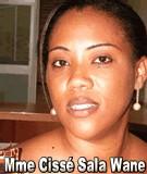 FLASH SUR... Mme Cissé Sala Wane