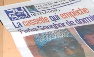 «24 heures Chrono» L'édition du jour retirée des kiosques par la police
