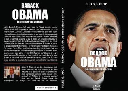 Souleymane Jules Diop publie un livre sur Barack Obama