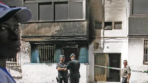 Meurtre d'un sénégalais:Les africains d'Espagne au bord de l'explosion