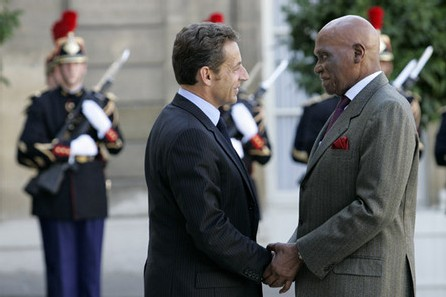 [ PHOTOS ] Les images de la visite du Président WADE à L'Elysee