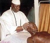 SENEGAL-GAMBIE Yaya Jammeh apporte son soutien mystique aux Scorpions