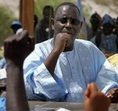 ACCOMPAGNE PAR MOUSTAPHA CISSE LO: Macky Sall rend visite a Serigne Abdou Fatah Mbacke a Taif