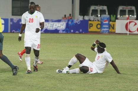 Les Lions éliminés par la Gambie 1-1