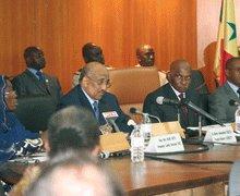 """Me WADE A L'OUVERTURE DU 1er COLLOQUE INTERNATIONAL DU FIGE : """"Le principe de la Bonne gouvernance est un dogme sacré au Sénégal"""""""