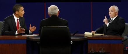 [ VIDEO ] INTEGRALITE DU DERNIER DEBAT Obama / McCain  (Traduit en Francais): Barack déclaré vainqueur