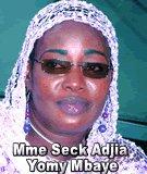 FLASH SUR... Mme Seck Adjia Yomy Mbaye