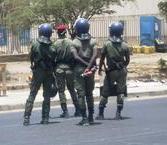 Les étudiants bloquent la circulation sur l'avenue Cheikh Anta Diop