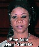 FLASH SUR... Mme Adja Néné Samaké