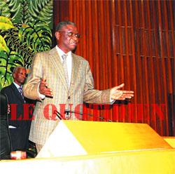 Il fait acte d'allégeance à Wade : Le premier faux-pas de Mamadou Seck
