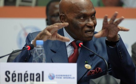 """Abdoulaye Wade : « La crise financière est une chance pour l'Afrique"""""""