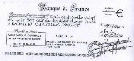 PRESIDENTS AFRICAINS - JUSTICE: Les chèques cadeaux d'Omar Bongo