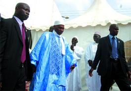 TABASKI 2008: Le président de la République à Gouye Mouride