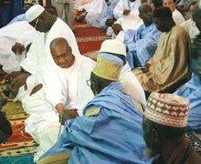 CHEIKH HADJIBOU SOUMARE A LA GRANDE MOSQUEE: « Nous tendons la main à tous les sénégalais »