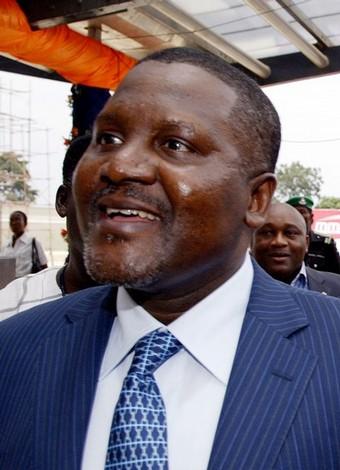 CONSTRUCTION D'UNE NOUVELLE CIMENTERIE AU SENEGAL: Le Milliardaire Nigérian Dangote recule