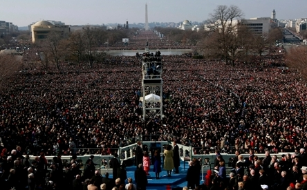 [ PHOTOS ] EN IMAGES... 2 millions de personnes acclament Obama