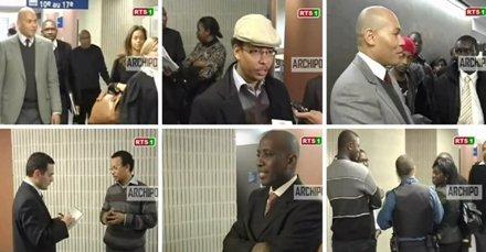 [ VIDEO ] Reportage de la RTS sur le verdict du procès en diffamation opposant Jules Diop à Karim Wade