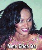 FLASH SUR... Mme Erica Ba