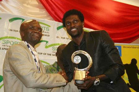 Adebayor sacré Joueur africain de l'année 2008