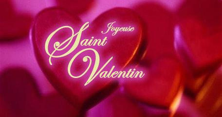 SAINT VALENTIN : Des cartes pour le dire