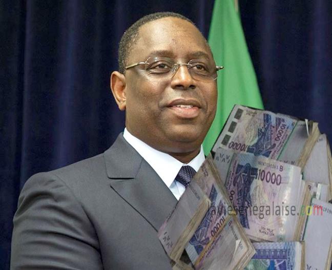 Macky annonce un faux salaire, pour bluffer les Sénégalais