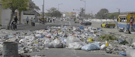 GREVE DES AGENTS DU NETTOIEMENT: Dakar sous la menace des ordures
