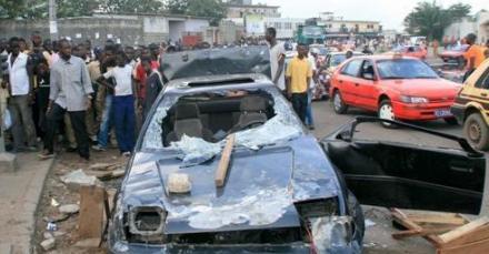 ÉLECTIONS LOCALES - PARCELLES OUVRENT LE BAL DE LA VIOLENCE : Le véhicule d'un proche de Tanor saccagé