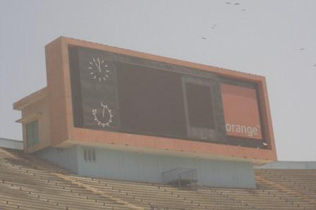 Stade Léopold Sédar Senghor : L'écran géant d'une valeur de 400 millions bousillé