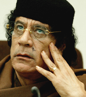 AUTORITE DE L'UNION: Kadhafi propose une conception