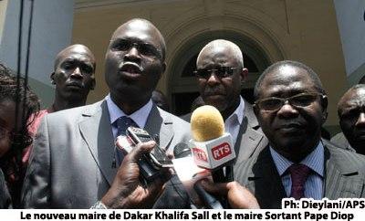 LE NOUVEAU MAIRE DE DAKAR INSTALLE: Pape Diop quitte la mairie et passe le témoin à Khalifa Sall