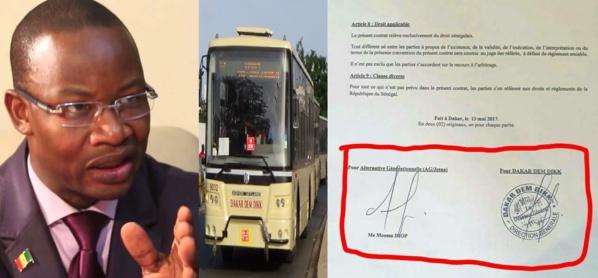 DAKAR DEM DIKK : Quand Me Moussa Diop loue des bus à... Me Moussa Diop