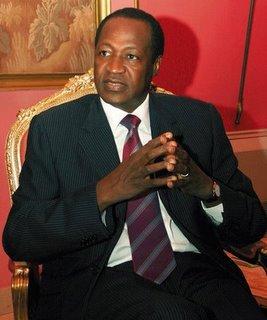 Crise financière: Blaise Compaoré lance un cri du cœur