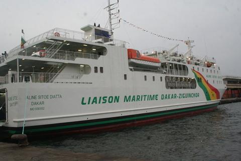 Désenclavement de la Casamance - Le bateau « Aline Sitoé » bientôt en carénage : Le spectre des braqueurs de route…