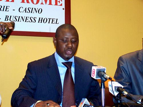 Mamadou Lamine Keita offre 2 millions de francs aux marcheurs
