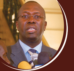 APRÈS AVOIR PROMIS DE RÉUNIR TOUS LES RESPONSABLES LIBÉRAUX DE KAOLACK AUTOUR D'UNE TABLE: Souleymane Ndéné prie pour que Madieyna Diouf échoue