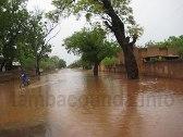 INONDATION A TAMBACOUNDA: La gouvernance et Le Commissariat de police sous les eaux