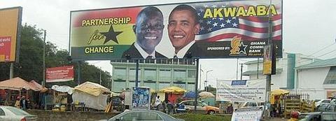 Accueil triomphal pour Obama au Ghana