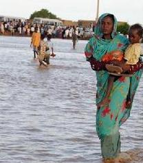Au moment où le Pm Souleymane Ndéné faisait son beau discours: Une famille vit sous les eaux à Thiaroye depuis 4 ans