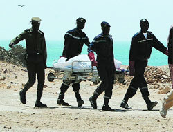 PARCELLES ASSAINIES UNITE 15: Un corps sans vie découvert à la plage