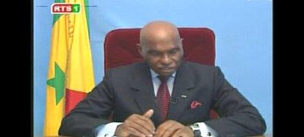 Déclaration du Président Abdoulaye WADE à son retour de vacances