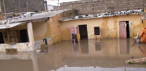 Inondations en Afrique de l'Ouest : près d'un demi-million de sinistrés