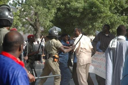 MANIFESTATION CONTRE LES INONDATIONS A SICAP MBAO: Huit personnes interpellées