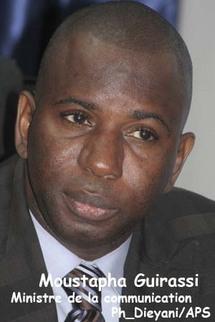 Moustapha Guirassy (Ministre de la communication et porte-parole du gouvernement) : 'Je travaille à réduire la tension entre la presse privée et le pouvoir'