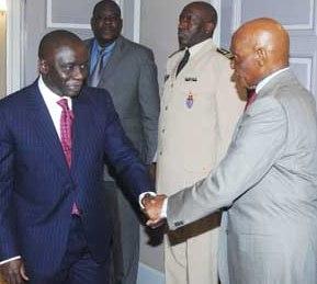 Idrissa Seck reçu par le président de la République