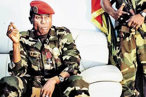 """Moussa Dadis Camara : """"je n'ai pas pris cette nation pour un affrontement"""""""