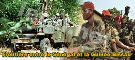 La tension est vive à la frontière entre le Sénégal et la Guinée Bissau