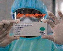 PRISE EN CHARGE DE CAS DE GRIPPE A H1N1 : stock de 221.120 comprimés disponible