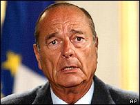 Jacques Chirac renvoyé au tribunal