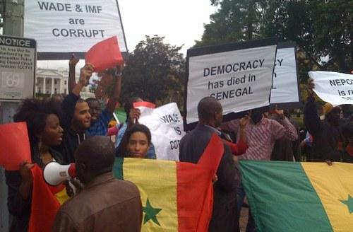 Les Sénégalais d'Amérique réclament la démission immédiate du President Abdoulaye